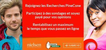 3$ par sondage avec Pinecone !