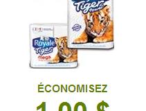 Coupon rabais sur les essuie-tout Tiger Towel !