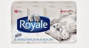 Papier hygiénique Royale à 2,99$ après coupon rabais.