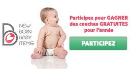 Échantillons gratuits bébé !