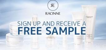 Échantillons gratuits produits Racine !