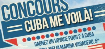 Concours un Voyage pour 2 personnes à Cuba !