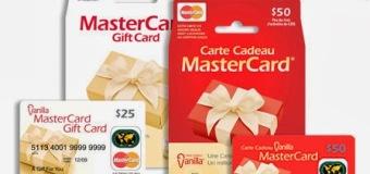 Invitez vos amis et Obtenez une carte de crédit de 25$!