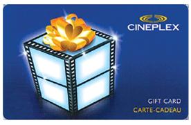 Concours carte-cadeau 50$ cinéma cineplex