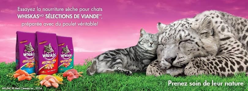 20 000 échantillons gratuits nourriture pour chats Whiskas Meaty Selections!