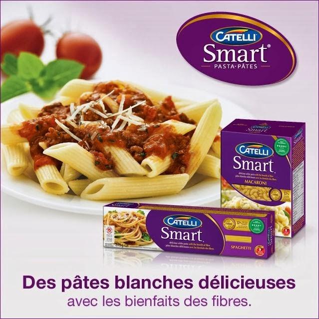 Coupon rabais 1$ pâtes Catelli Smart