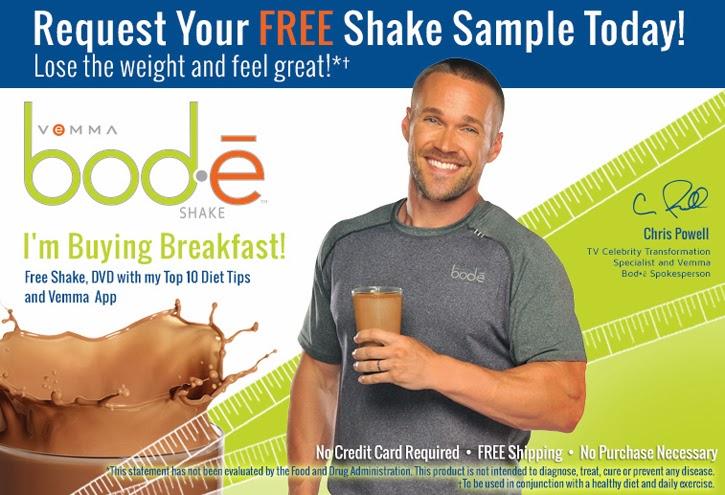 Échantillon gratuit du Shake Vemma Bodé !