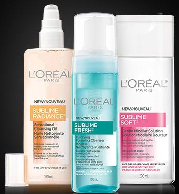 Coupon rabais nettoyant L'Oréal Paris
