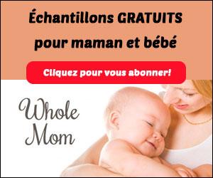 Échantillons gratuits pour maman et bébé !