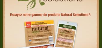 Économisez 5 $ à l'achat de toute combinaison de trois (3) produits Maple Leaf