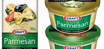 Coupon rabais 1 $ Kraft à l'achat d'un (1) fromage râpé Kraft de 141 g ou 200 g.