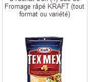 Coupons rabais Kraft