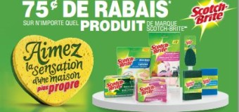 Coupon rabais Scotch Brite
