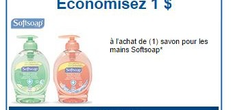Coupon rabais Softsoap